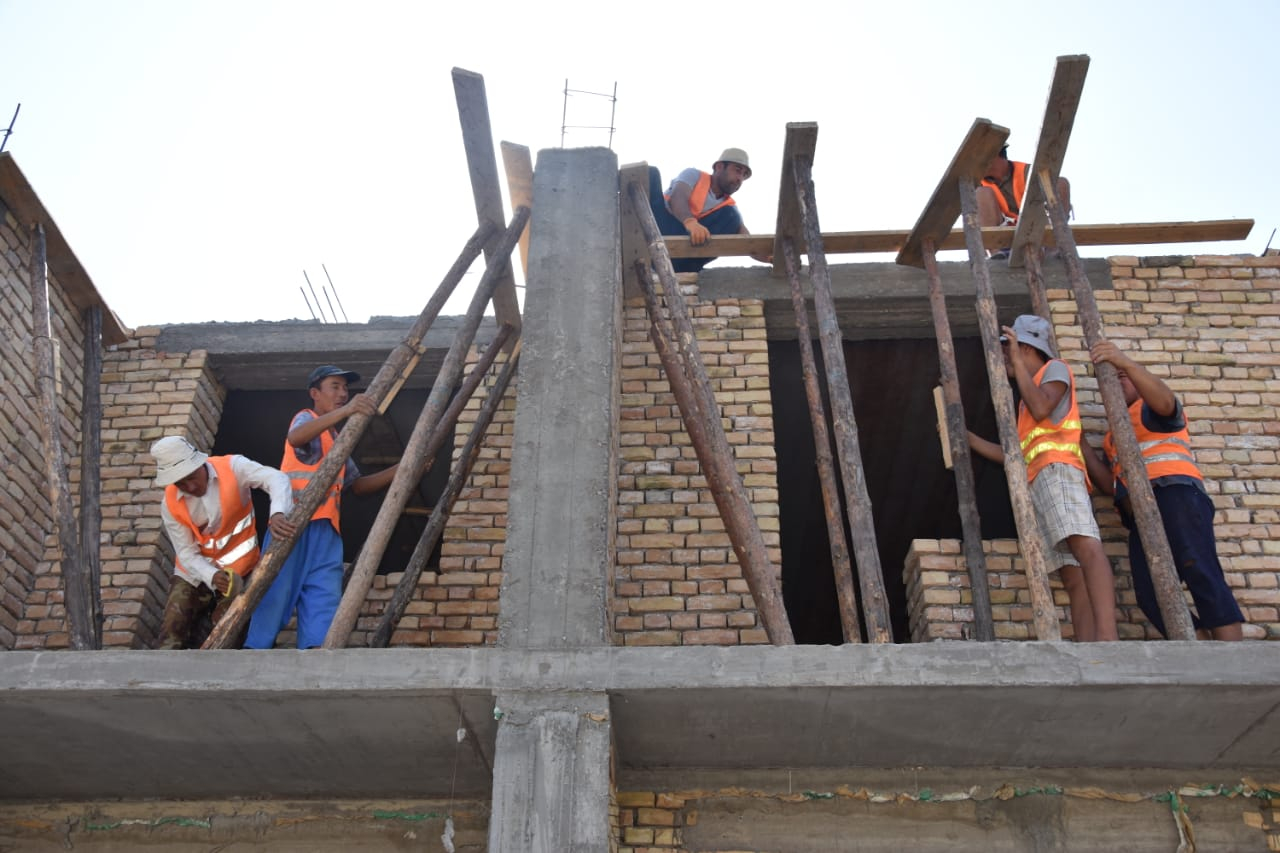 ТҮРКІСТАН: Шардарада тұрғын үй құрылысы қарқынды жүргізілуде