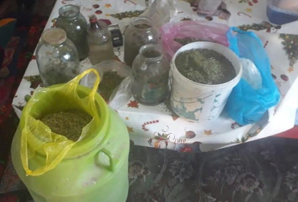 Жертөлесінде 8 келіден астам есірткі сақтаған түркістандық тұрғын ұсталды