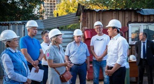 Көлгінов құрылыс компаниясының басшылығына ескерту жасады