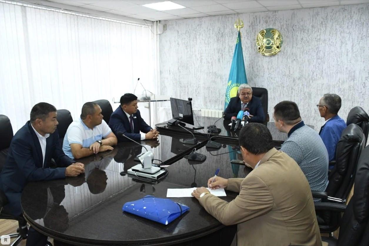 Түркістандық делегацияны СҚО әкімінің орынбасары қабылдады