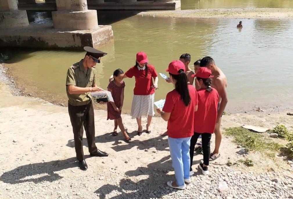 ТҮРКІСТАН: Ордабасыда суға шомылудағы қауіпсіздік шаралары түсіндірілді