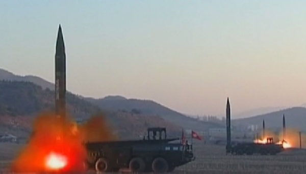 Солтүстік Корея қос зымыран ұшырды