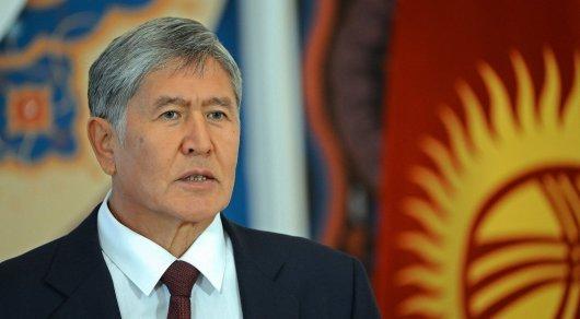 Атамбаев мемлекеттік төңкеріс жасауға дайындалған - Қырғызстан МҰҚК