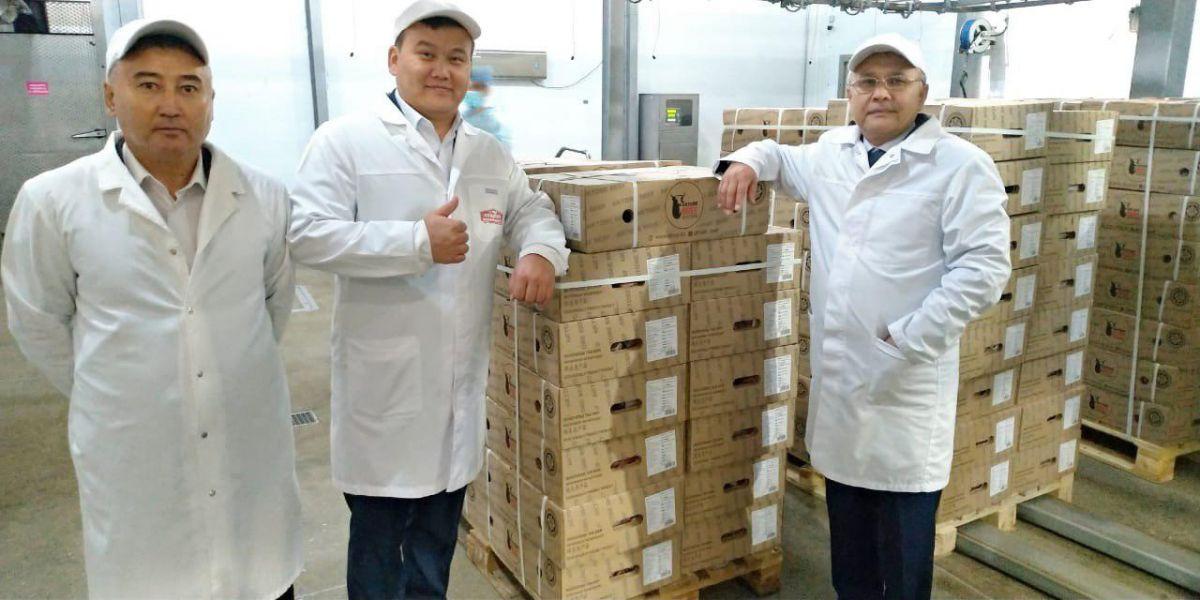 Ақтөбеден Қытайға мұздатылған сиыр етінің бірінші партиясы жөнелтілді