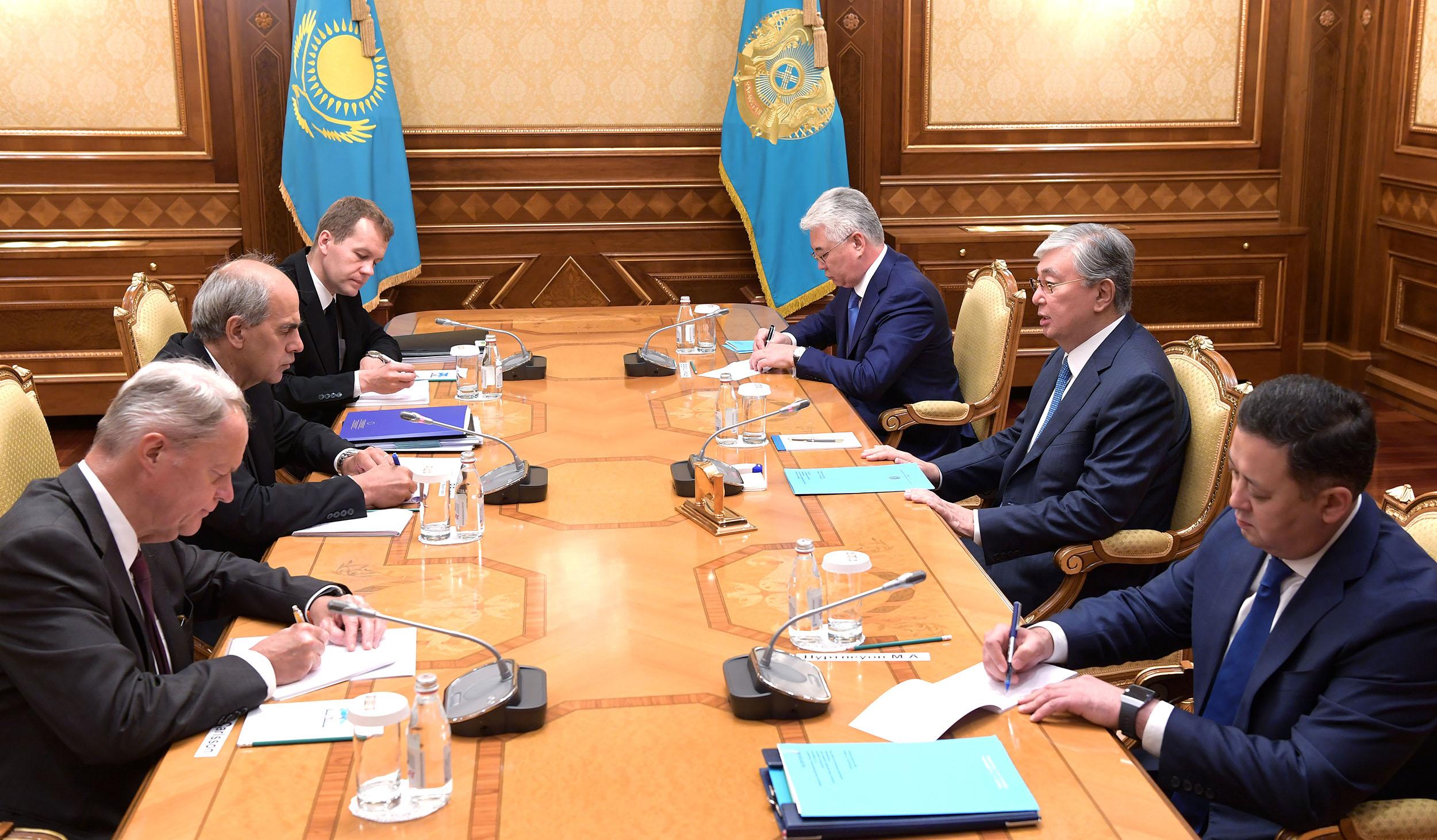 Президент Еуропалық Одақтың арнайы өкілін қабылдады