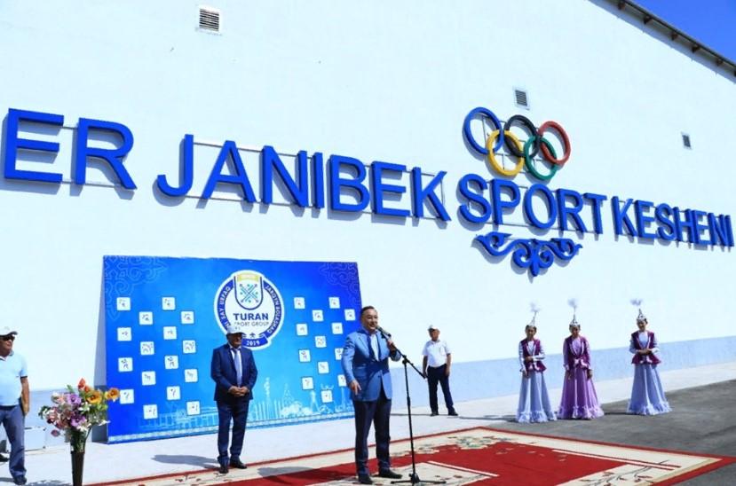 ТҮРКІСТАН: Түлкібас ауданында жаңа спорт кешені пайдалануға берілді