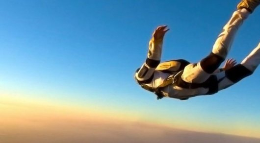 Парашют ашылмай қалды: 1500 метр биіктен сәтсіз секірген әйел аман қалды