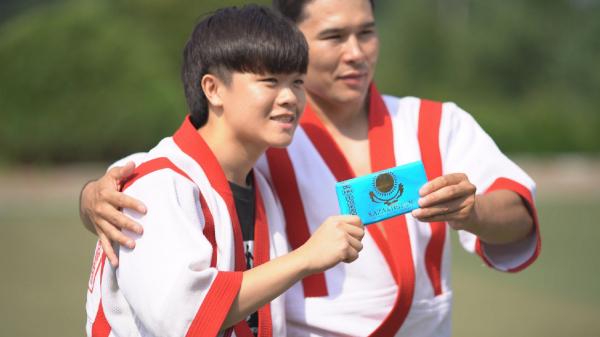 Оңтүстік Кореяда қазақ күресінен турнир өтті
