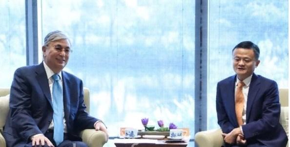 ҚР Президенті Alibaba компаниясының негізін қалаушы Джек Мамен кездесті