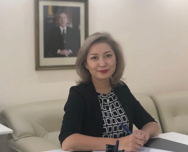 Ақерке Ахметова ҚР әділет вице-министрі болып тағайындалды