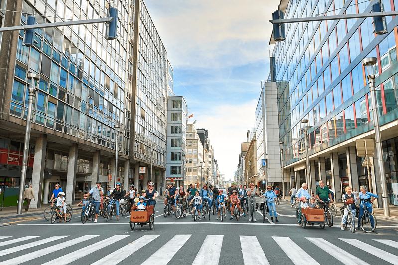 Брюссельде «автомобильсіз жексенбі» өтіп жатыр