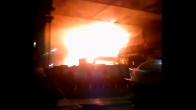 Теміртау металлургиялық комбинатында алапат өрт болды