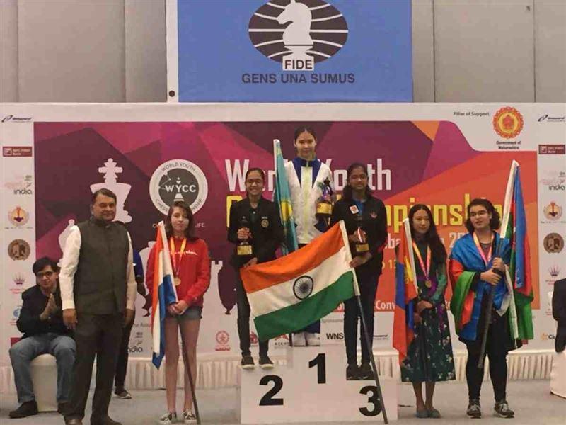 Қазақ қызы шахматтан әлем чемпионатында алтын алды