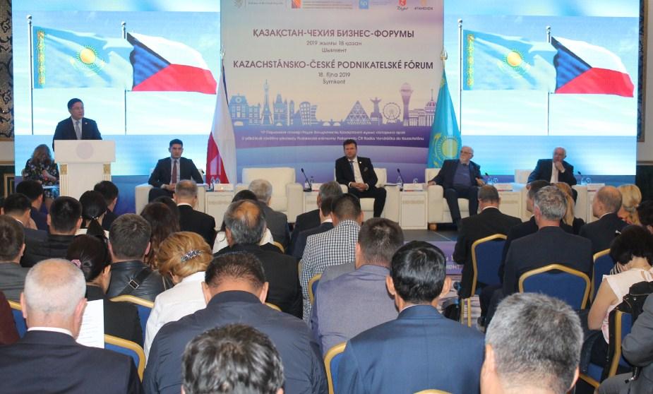 Шымкент қаласында «Қазақстан-Чех бизнес-форумы» өтті