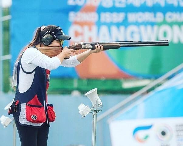 Сәрсенкүл Рысбекова стенд атудан олимпиада жолдамасын жеңіп алды