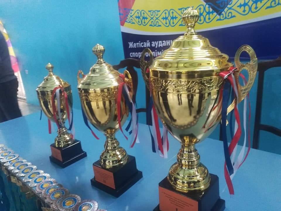 ТҮРКІСТАН: Жетісайда қазақ күресінен ашық біріншілік өтті