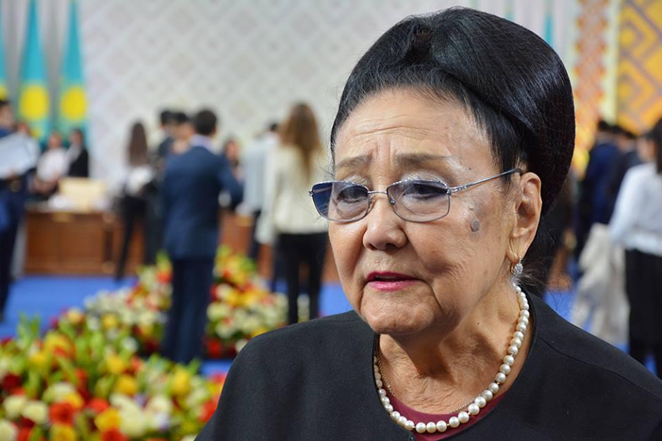 Бибігүл Төлегенованың есімі ЮНЕСКО-ның 20 ең атақты әйелдерінің тізіміне енді