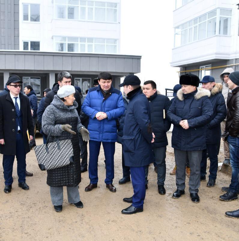 Шымкент қаласының әкімі құрылыстағы автокөліктердің қаланы ластамауын қатаң тапсырды