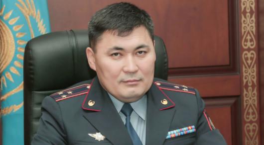Алматының бас полицейі тағайындалды