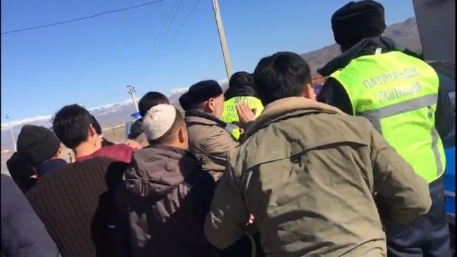 Қордайдағы төбелес: Тұрғындар аудандық полиция бөлімі қызметкерлерінің үстінен шағымданды