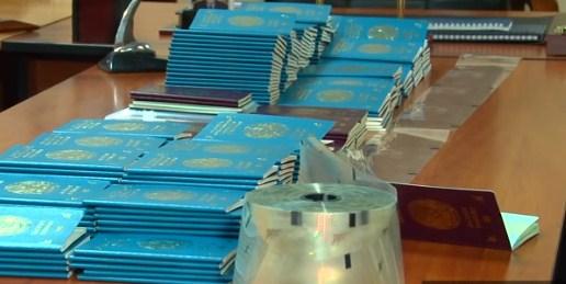 Қытай азаматынан 300-ге жуық Қазақстан төлқұжаты бланкісі тәркіленді