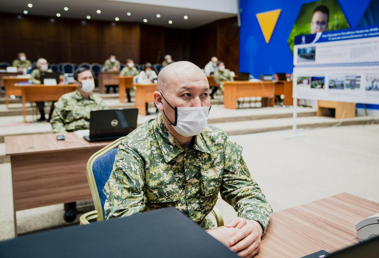 Елордада алғашқы 100 әскери міндетті әскерге шақырылды