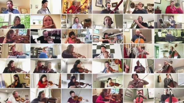 АҚШ-тың симфониялық оркестрі Бетховеннің шығармасын онлайн орындады