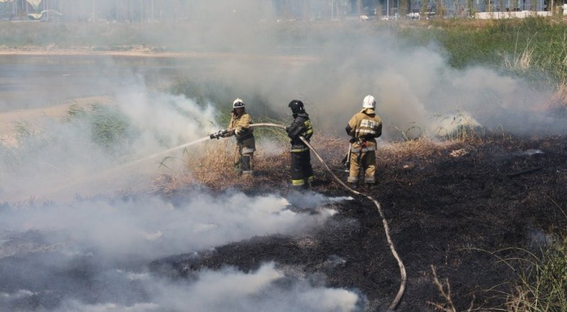 В Шымкенте сформирована добровольная пожарная группа