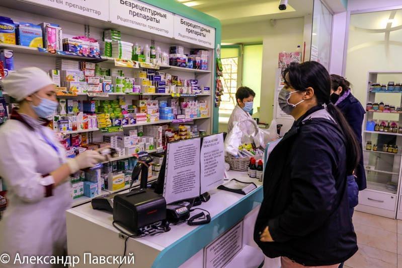 Нұр-Сұлтанда 70 мың адамға жетерлік парацетамол 30 минутта сатылып кеткен