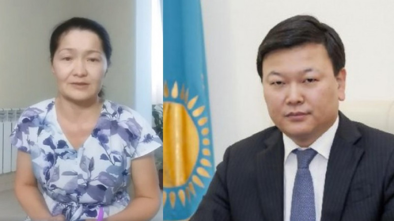 Денсаулық сақтау министрі шымкенттік Айна Бакееваның видеоүндеуіне жауап берді