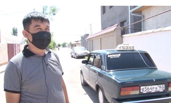Түркістандық таксилер жедел жәрдем қызметін тегін атқарып жатыр