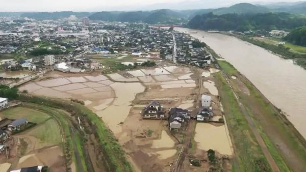 Қытайда су тасқынынан 30 млн адам зардап шекті