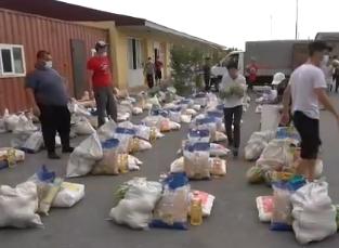 ТҮРКІСТАН: Ауыл жастары 50 отбасыға көмек көрсетті