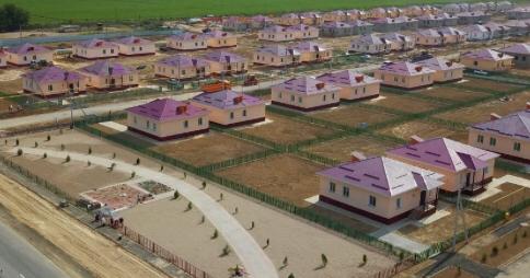 ТҮРКІСТАН: Мақтааралда 100-ден астам үйдің құрылысы аяқталды