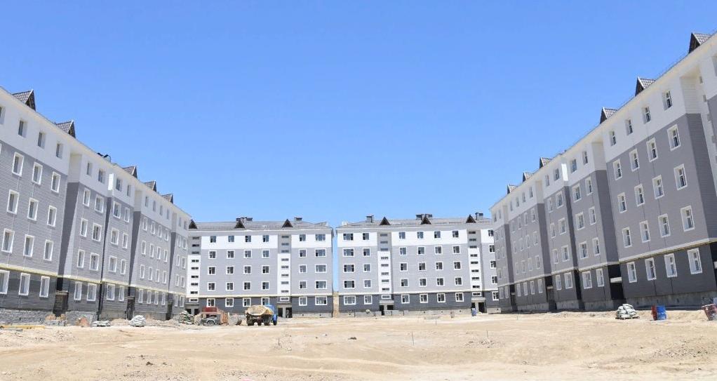 ШЫМКЕНТ: За семь месяцев сдано в эксплуатацию около 1500 квартир