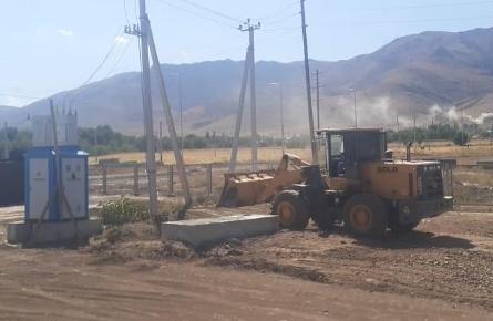 Түркістандық ауылдарды электр және сумен қамту қолға алынды