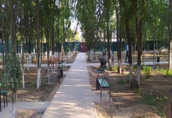 ТҮРКІСТАН: Орталық саябақ  жөндеуден өткізілді