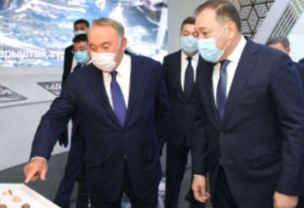 Нұрсүлтан Назарбаев Түркістандағы