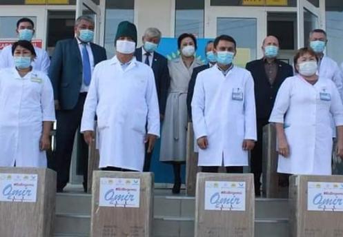 Түркістандық аурухана 11 жасанды тыныс алу аппаратымен толықты
