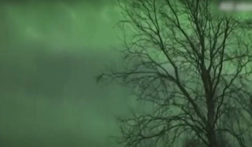 Лапландия тұрғындары ерекше құбылысты бақылады (видео)