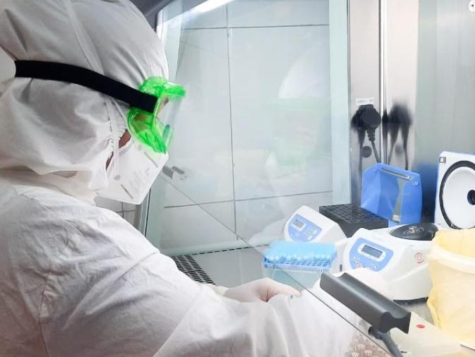 ТҮРКІСТАН: COVID-19 анықтайтын зертханалардың қуаттылығы артты