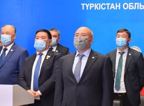 Түркістандық делегаттар партия бастамасына қолдау білдірді