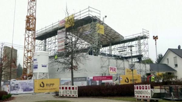 Германияда ең үлкен 3D-үй салынып жатыр