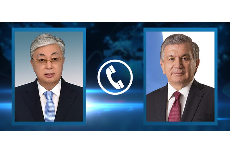 Қасым-Жомарт Тоқаев Өзбекстан Президентімен телефон арқылы сөйлесті