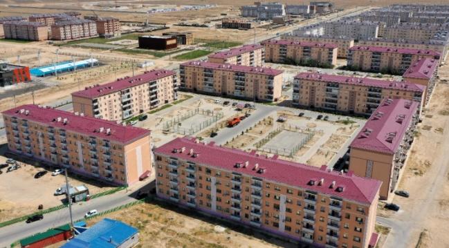 Түркістанда тұрғын үй құрылысы 2,5 есеге артқан