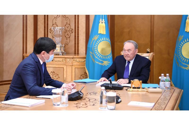 Нұрсұлтан Назарбаев Бауыржан Байбекті қабылдады