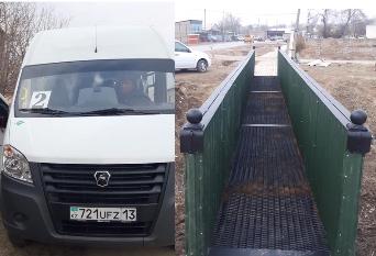Түркістандық депутаттардың ықпалымен көпір мен автобустар жаңарды