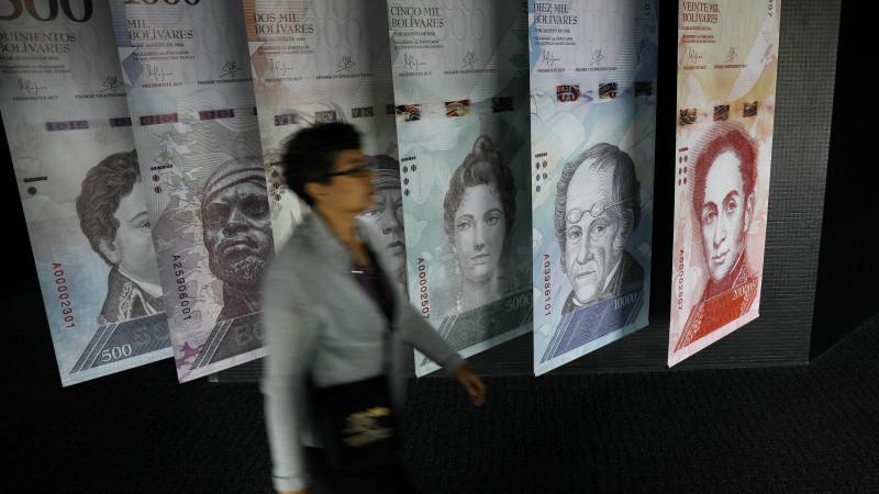 Венесуэлада номиналы 1 миллион боливар банкнот пайда болады