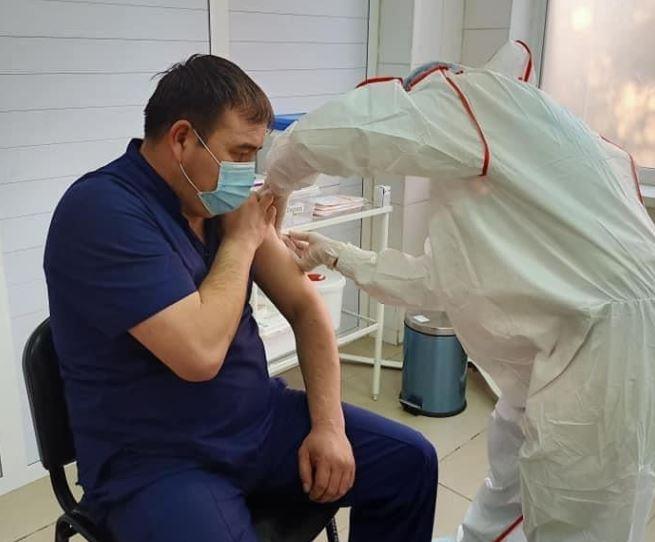ТҮРКІСТАН: 20 мыңнан астам адам вакцина салдырды