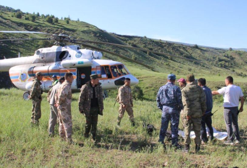 ТҮРКІСТАН: Жоғалған туристерді іздестіруге өзбекстандық құтқарушылар да жұмылдырылды